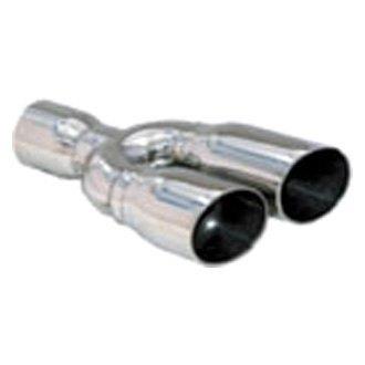 """Jones Exhaust ATT15F-3 15/"""" x 4/"""" Turbo Tube Muffler Full w// 2/"""" Inlet /& Outlet"""