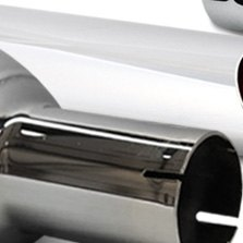 Jones Exhaust® - Chrome Plated Tip