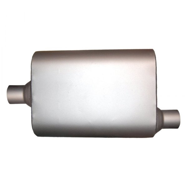 """Fits 2.25/"""" Pipe 2.25/"""" Offset In 2.25/' Center Out Jones Exhaust Muffler Fits"""