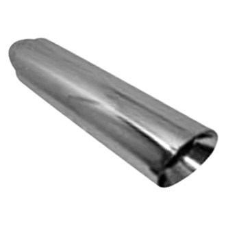 Jones Exhaust® - Stainless Steel Round Double-Wall Polished Exhaust Tip