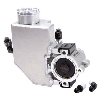 Jones Racing® PS-9008-AL-AR - Power Steering Pump with Aluminum Reservoir