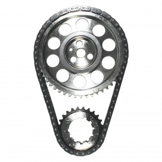 JP Performance® - Billet Adjustable Double Roller Timing Set with Torrington Bearing and Standard Length Chain