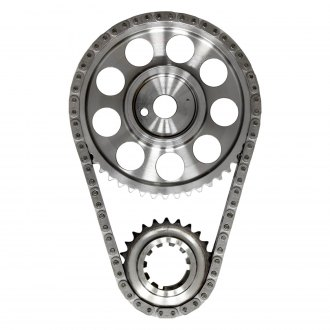 JP Performance® - Billet Adjustable Double Roller Timing Set with Standard Length Chain