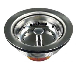 JR Products® - Stainless Large Kitchen Sink Strainer