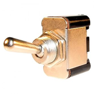 JT&T® - 25A/12V S.P.S.T. Heavy Duty On/Off Toggle Switch with Two Screw Terminals
