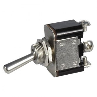 JT&T® - 25A/12V S.P.D.T. Heavy Duty On/Off Marine Toggle Switch with Three Screw Terminals