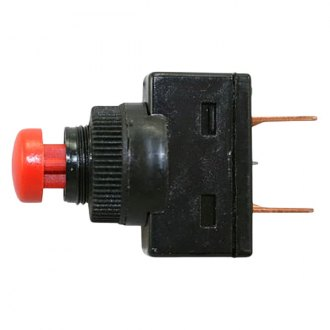 JT&T® - 10A/12V Momentary On/Off Red Push Starter Switch with 0.250 Tab Terminals