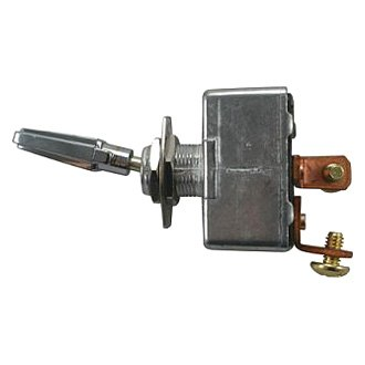 JT&T® - 50A/12V S.P.S.T. Heavy Duty On/Off All Metal Toggle Switch with Two Screw Terminals