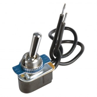 JT&T® - 15A/12V S.P.S.T. On/Off Toggle Switch with Intergrated Wire Leads