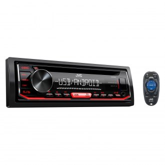 JVC® - Single DIN CD/AM/FM/MP3/WMA/FLAC Receiver