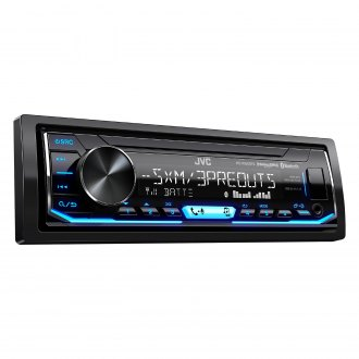 JVC® - Single DIN AM/FM/MP3/WMA/AAC/FLAC Digital Media Receiver with Built-In Bluetooth, SiriusXM Ready and Pandora Support