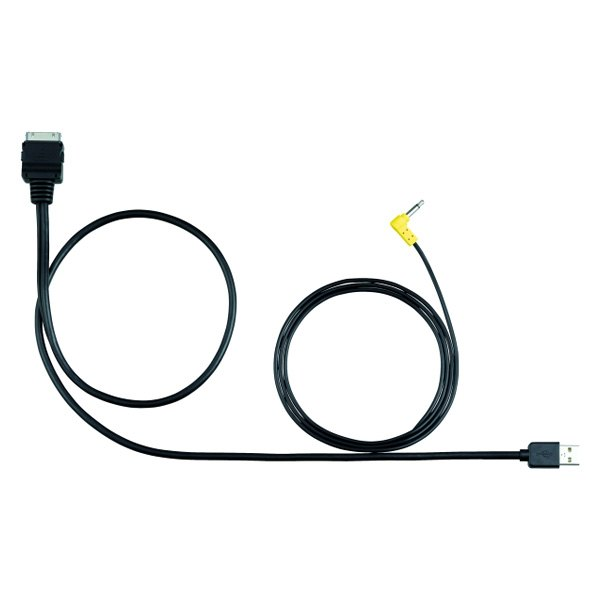 JVC® - USB and Mini-jack to iPod & iPhone 30 pin Connection Cable