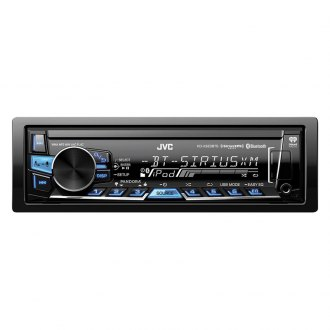 JVC® - Single DIN AM/FM/USB Digital Media Receiver with Built-In Bluetooth