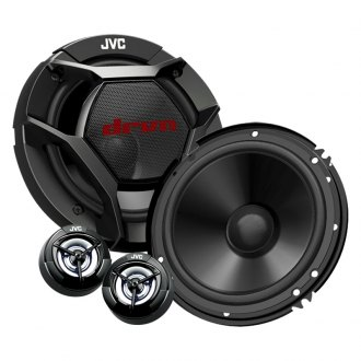 "JVC® - 6-1/2"" 2-Way DRVN Series 360W Component Speakers"