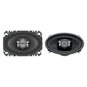 "JVC® - 4"" x 6"" 2-Way DRVN Series 140W Coaxial Speakers"