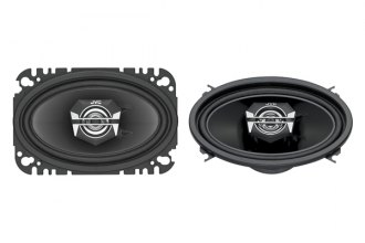 "JVC® - 4"" x 6"" DRVN Series 2-Way Coaxial 140W Speakers"