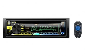 JVC® - Single DIN MP3/SD/USB/AM/FM Receiver with iRadio and Bluetooth Remote