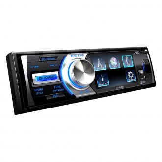 "JVC® - Single DIN DVD/CD/AM/FM/MP3/WMA Remote Control Receiver with 3"" LCD Monitor"