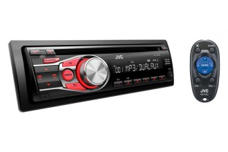 JVC® - Single DIN CD/MP3/WMA 3-Band Equalizer Receiver