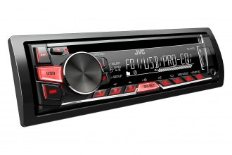 JVC® - Single DIN CD/MP3/USB/Aux Receiver