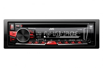 JVC® - Single DIN CD/MP3/USB/Aux/Remote Control Receiver