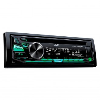 JVC® - Single DIN CD/AM/FM/MP3/WMA/FLAC/WAV Receiver with SiriusXM Ready and Pandora Radio Support