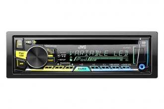 JVC® - Single DIN CD/MP3/USB/AM/FM Receiver