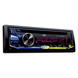 JVC® - Single DIN CD/AM/FM/MP3/WMA Receiver with Pandora Control and Sirius XM Ready