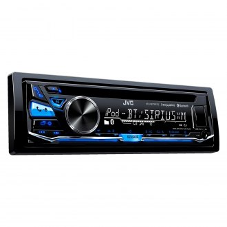 JVC® - Single DIN CD/AM/FM/MP3/WMA Receiver with Built-In Bluetooth, Pandora Control, iHeartRadio Compatibility and SiriusXM Ready