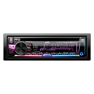 JVC® - Single DIN AM/FM/CD/MP3/USB Receiver with Bluetooth and Detachable Faceplate