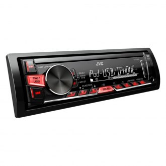 JVC® - Single DIN AM/FM/MP3 Receiver with Remote Control