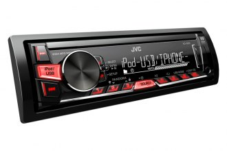 JVC® - Single DIN MP3/SD/USB/AM/FM Receiver with Remote