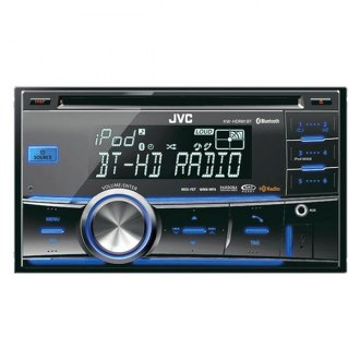 JVC® - Double DIN CD/USB Receiver with Bluetooth and Aux Input