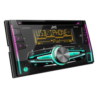 JVC® - Double DIN CD/Front USB/Aux/Remote Control Receiver