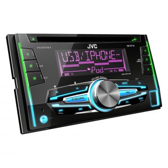 JVC® - Double DIN CD/AM/FM/MP3/WMA In-Dash Receiver