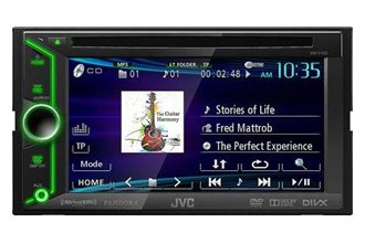 "JVC® - Double DIN DVD/CD/MP3/USB/SD Touchscreen Multimedia Receiver with 6.1"" Touchscreen"