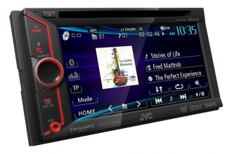 "JVC® - Double DIN Arsenal 6.1"" DVD / CD / MP3 / USB / SD / Bluetooth Touchscreen Receiver"
