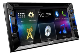 "JVC® - Double DIN DVD/CD/MP3/USB/Bluetooth/SiriusXM Ready Touchscreen Receiver with 6.2"" Touchscreen"