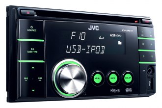 JVC® - Refurbished Double DIN CD Receiver