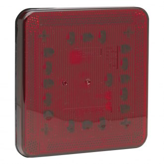 J.W. Speaker® - 224 Series Black/Red LED Stop/Tail Light