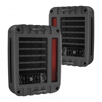J.W. Speaker® - 279 Series Black/Smoke Fiber Optic LED Tail Lights