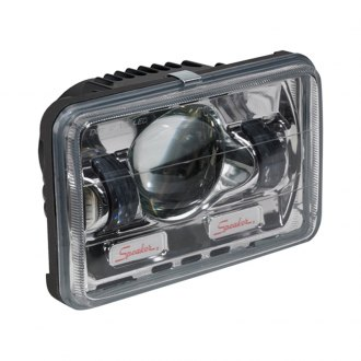 "J.W. Speaker® - 4x6"" Rectangular Chrome 8800 Evolution Projector LED Headlight"