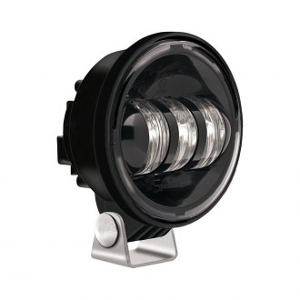 "J.W. Speaker® - 4"" Round 6150 Series Black/Black LED Fog Light"