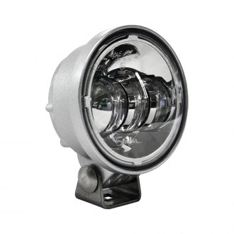 "J.W. Speaker® - 6150 Series 4"" Round Chrome/Gray LED Fog Light"