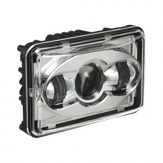 "J.W. Speaker® - 8800 Evolution 4x6"" Rectangular Chrome Projector LED Headlight"