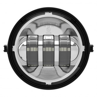 "J.W. Speaker® - 6146 Series 4"" Round Chrome LED Fog Lights"