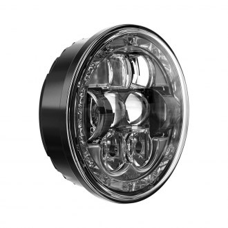 "J.W. Speaker® - 5 3/4"" Round Black Halo Projector LED Headlight"