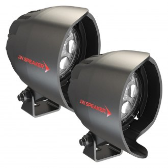 "J.W. Speaker® - Side View Mirror Mounted 4415 Series 3.5"" 2x26.4W Round Spot Beam LED Lights"