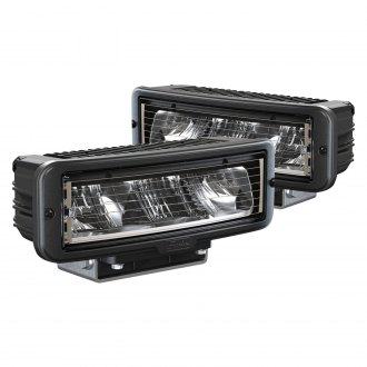 "J.W. Speaker® - 9800 Series 11x5"" Rectangular Black/Chrome LED Headlights"