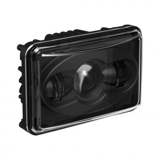 "J.W. Speaker® - 4x6"" Rectangular 8800 Evolution Black Projector LED Headlight, Low Beam, 12V"
